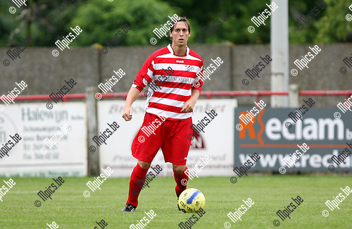 2010-07-31 / Seizoen 2010-2011 / Voetbal / Zandvliet Sport / Mitchell Van den Eynde..Foto: mpics