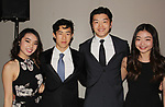 Karen & Nathan Chen - Alex & Maia Shibutani = Figure Skating in Harlem's Champions in Life (in its 21st year) Benefit Gala recognizing the medal-winning 2018 US Olympic Figure Skating Team on May 1, 2018 at Pier Sixty at Chelsea Piers, New York City, New York. (Photo by Sue Coflin/Max Photo)