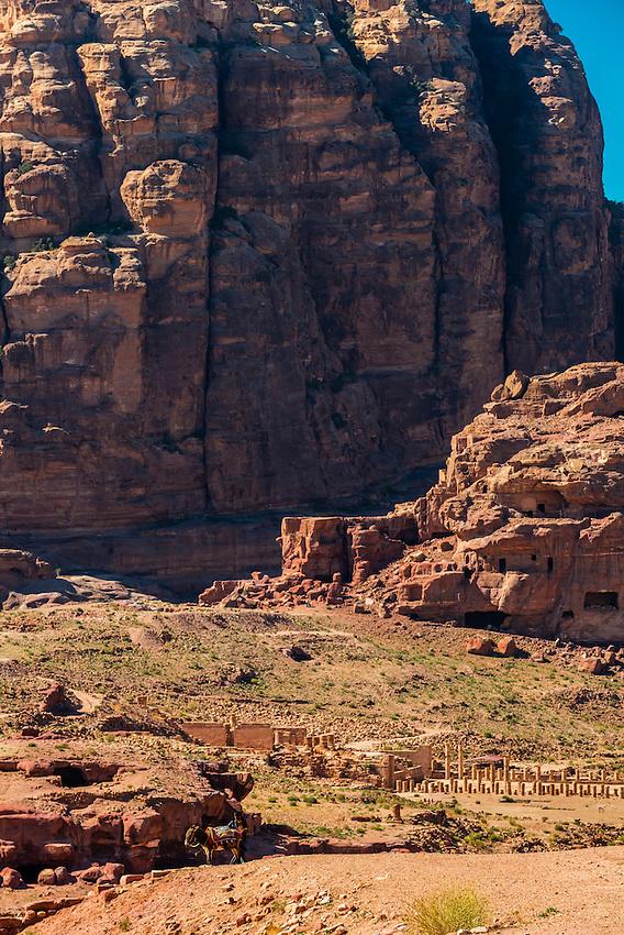 Great Temple, Petra Archaeological Park (a UNESCO World Heritage Site), Petra, Jordan.