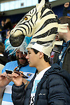 ENG - Leicester, England, October 11: After the Pool C rugby match between Argentina (blue/white) and Namibia (blue) on October 11, 2015 at Leicester City Stadium in Leicester, England. Final score 64-19 (HT 36-7). (Photo by Dirk Markgraf / www.265-images.com) *** Local caption ***