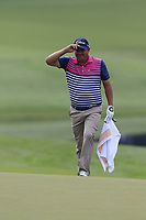 Jason Dufner (USA) walks onto the 15th green during Friday's Round 2 of the 2017 PGA Championship held at Quail Hollow Golf Club, Charlotte, North Carolina, USA. 11th August 2017.<br /> Picture: Eoin Clarke | Golffile<br /> <br /> <br /> All photos usage must carry mandatory copyright credit (&copy; Golffile | Eoin Clarke)