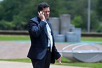 BRASÍLIA, DF, 28.11.2018 – GOVERNO-TRANSIÇÃO - O futuro ministro da Justiça, Sérgio Moro é visto no CCBB (Centro Cultural Banco do Brasil) onde é sede do Governo de Transição na tarde desta quarta-feira, 28. (Foto: Ricardo Botelho/Brazil Photo Press)