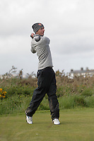 William Russell (Clandeboye) on the 15th tee during Round 3 of The Irish Amateur Open Championship in The Royal Dublin Golf Club on Saturday 10th May 2014.<br /> Picture:  Thos Caffrey / www.golffile.ie