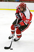 Aaron Bogosian (St. Lawrence - 32) is the older brother of Atlanta Thrasher Zach Bogosian. - The St. Lawrence University Saints defeated the Harvard University Crimson 3-2 on Friday, November 20, 2009, at the Bright Hockey Center in Cambridge, Massachusetts.