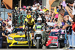 11th May 2019, Bologna, Italy; GiroD'Italia Cycling, stage 1, Bologna to San Luca; Primoz Roglic (Slo) in action during the Individual Time Trial