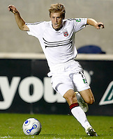 DC United midfielder Brian Carroll (16) makes a move.  The Chicago Fire defeated the DC United 3-0 in the semifinals of the U.S. Open Cup at Toyota Park in Bridgeview, IL on September 6, 2006...