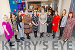 Fiona Stack, Dr Patricia Sheahan, Emily Brick, Brigetta Culhane, Margueritte Lynch, Deirdre Toomey (BOI), Breda O'Dwyer, Aine McClary, Laura Collins and Caroline McEnery attending the BoI Friday Breakfast Club International Women's Day at the Bank Of Ireland in Tralee on Friday.