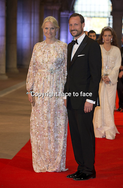 29-04-2013 Rijksmuseum Dinner offered by the Queen at the eregalerij at the Rijksmuseum in Amsterdam...Mette Marit and Haakon.. ..(c) PPE/Nieboer.. ..PPE-Agency/Edwin Veloo..www.ppe-agency.com ..Anemonenweg 52..2241 XM Wassenaar..info@ppe-agency.com..M. 06-43497725 .. ..If you have any questions please call or e-mail us with your inquiries......Credit: PPE/face to face..- No Rights for Netherlands -