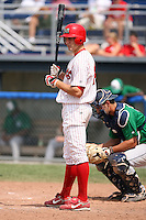 August 13th, 2007:  Collin Fanning of the Batavia Muckdogs, Short-Season Class-A affiliate of the St. Louis Cardinals at Dwyer Stadium in Batavia, NY.  Photo by:  Mike Janes/Four Seam Images