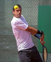 The Hague, Netherlands, 17 July, 2017, Tennis,  The Hague Open, Inigo Cervantes (ESP)<br /> Photo: Henk Koster/tennisimages.com