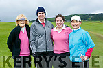 At the Ladies Golf Challenge, Intermediate and Junior cups at Castleisland Golf Club on Sunday were Kenmare Golf club's Brenda Holden, Kim Kennedy, Jane O'Sullivan and Chris Sugrue