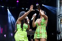 NOVA YORK (EUA) 01.09.2019 - BRAZILIAN-DAY - Simone e Simaria durante Brazilian Day (BrDay) na cidade de Nova York neste domingo, 01. (Foto: Vanessa Carvalho/Brazil Photo Press)
