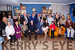 Parents Neil O'Sullivan and  Leah Quail celebrates the christening of Baby Rian in St. John's church Tralee by Denis Kelliher on Saturday with a party for family and friends at Benners Hotel