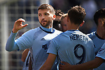 Sporting KC defeated the Philadelphia Union 2-0 in a Major League Soccer game on Sunday March 10, 2019 at Children's Mercy Park in Kansas City, KS.           <br />                                        Photo by Tim Vizer