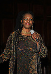 DeBorah Sharpe-Taylor sang On June 29, 2013 The Rehearsal Club celebrates 100 years with Cocktails, photos & Networking, Buffet Dinner, awards, presentations and entertainment at the Players Club, New York City, New York. (Photo by Sue Coflin/Max Photos)