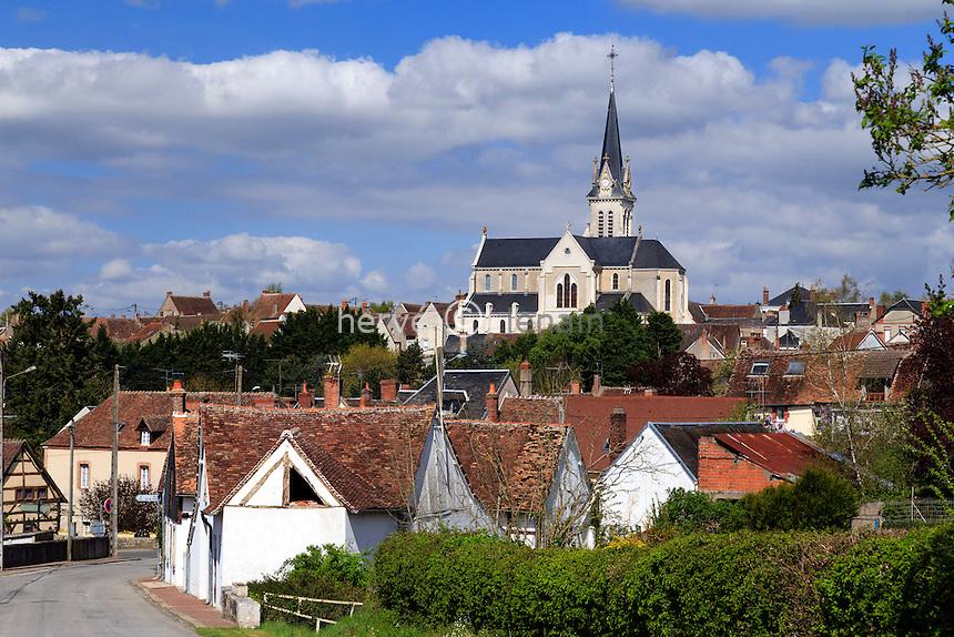 France, Loiret (45), Autry-le-Châtel // France, Loiret, Autry le Chatel