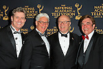 LOS ANGELES - APR 24: Harlan Boll, Bob Mauro, Charles L Dages, David Michaels at The 42nd Daytime Creative Arts Emmy Awards Gala at the Universal Hilton Hotel on April 24, 2015 in Los Angeles, California