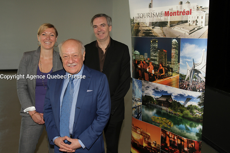 File Photo of Pierre Bellerose<br /> , V-P, Tourisme Montreal<br /> <br /> <br /> PHOTO : Pierre Roussel -  Agence Quebec Presse
