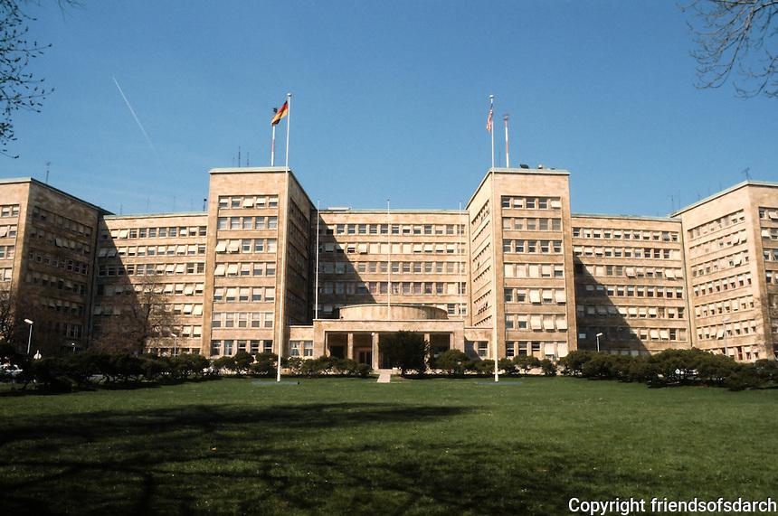 Hans Poelzig: I.G. Farben Headquarters, 1928-30. Now called Poelzig Building. Berlin.