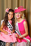 Leitrim Rose Edwina Guckian pictured with her Rosebud Holly Galvin at the Carlton Hotel at the Rose of Tralee on Friday.