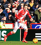 Adam Reach of Middlesbrough - Middlesbrough vs. Leeds United - Skybet Championship - Riverside Stadium - Middlesbrough - 21/02/2015 Pic Philip Oldham/Sportimage