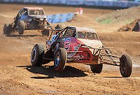 Apr 16, 2011; Surprise, AZ USA; LOORRS driver Joe Masek (13) during round 3 at Speedworld Off Road Park. Mandatory Credit: Mark J. Rebilas-.