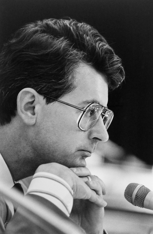 Rep. Fred Grandy, R-Iowa in July, 1991. (Photo by Maureen Keating/CQ Roll Call)