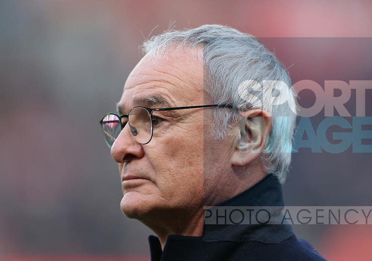 Claudio Ranieri manager of Leicester City during the English Premier League match at the Bet 365 Stadium, Stoke on Trent. Picture date: December 17th, 2016. Pic Simon Bellis/Sportimage