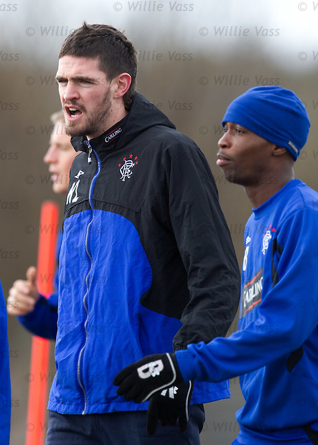 Kyle Lafferty auditioning for the part of Shaggy in Scooby Doo