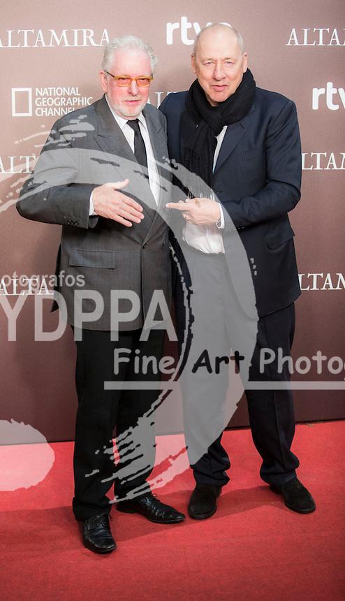hugh Hudson and Mark Knopfler