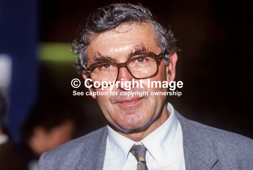 Patrick Jenkin, MP, Conservative Party, UK, 19861010PJ1<br />