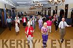 Enjoying the Sliabh Luachra Tea Dance in the Ballygarry House Hotel on Monday