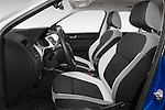 Front seat view of a 2015 Skoda Fabia Ambition 5 Door Hatchback Front Seat car photos