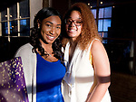 WATERTOWN, CT-042518JS20- Shavonn Taylor and Dominique Tatis at the Save Girls on F.Y.E.R. organization's fifth anniversary celebration held at Old Platform 6 in Watertown. <br /> Jim Shannon Republican American