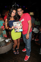 Christie Livoti and  AJ Graziano attend Inked Magazine release party celebrating August issue, New York. July 17, 2012 © Diego Corredor/MediaPunch Inc.