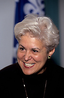 File - Louise Harel en 1998<br /> <br /> Photo : Pierre Roussel - Agence Quebec Presse