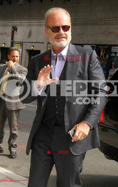 August 20, 2012 Kelsey Grammer at the LateShow with David Letterman to talk about Staz 's series Boss in New York Credit:&copy; RW/MediaPunch Inc. /NortePhoto.com<br /> <br /> **SOLO*VENTA*EN*MEXICO**<br /> **CREDITO*OBLIGATORIO** <br /> *No*Venta*A*Terceros*<br /> *No*Sale*So*third*<br /> *** No Se Permite Hacer Archivo**<br /> *No*Sale*So*third*