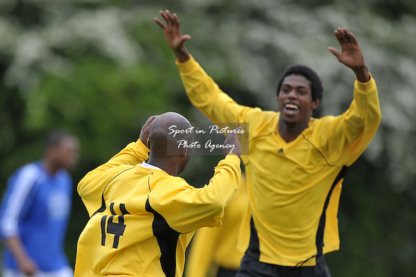 All Nations Centre FC Vs East London Tabernacle FC. League Shield Final. North East London and Essec Churches Football League. Frederick Knights Sports Centre. Edmonton. London. 08/05/2010. Credit Sportinpictures/Garry Bowden
