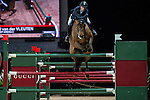 Maikel van der Vleuten of Netherlands riding VDL Groep Arera C in action at the Gucci Gold Cup during the Longines Hong Kong Masters 2015 at the AsiaWorld Expo on 14 February 2015 in Hong Kong, China. Photo by Xaume Olleros / Power Sport Images