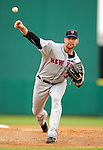 10 March 2011: New York Mets' pitcher Mike Pelfrey on the mound during a Spring Training game against the Washington Nationals at Space Coast Stadium in Viera, Florida. The Nationals edged out the Mets 6-5 in Grapefruit League play. Mandatory Credit: Ed Wolfstein Photo