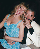 1984 <br /> Leroy Neiman Melinda Saxe<br /> Photo By John Barrett-PHOTOlink.net/MediaPunch