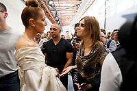Celine Dion, Carine Roitfeld<br /> Alexandre Vauthier Haute Couture<br /> Paris Fashion week Haute Couture 2019<br /> Paris, France in July 2019.<br /> CAP/GOL<br /> ©GOL/Capital Pictures