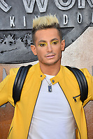 Frankie Grande at the premiere for &quot;Jurassic World: Fallen Kingdom&quot; at the Walt Disney Concert Hall, Los Angeles, USA 12 June 2018<br /> Picture: Paul Smith/Featureflash/SilverHub 0208 004 5359 sales@silverhubmedia.com