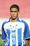 13 March 2008: Oscar Morales (HON) (21). The Honduras U-23 Men's National Team defeated the Cuba U-23 Men's National Team 2-0 at Raymond James Stadium in Tampa, FL in a Group A game during the 2008 CONCACAF's Men's Olympic Qualifying Tournament.
