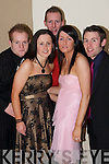 SPORTS AWARDS: Having a good night at the ITT Ball & Sports Awards at the Earl of Desmond Hotel on Friday evening were John Hickey, Orlaith Murphy, Jim Morris, Bernie Maguire and Ryan ODonnell. .