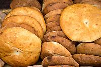 Rissani, Morocco.  Bread for Sale.