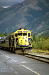 AK: Alaska Denali National Park, Railroad, Denali to Anchorage .Photo Copyright: Lee Foster, lee@fostertravel.com, www.fostertravel.com, (510) 549-2202.Image: akdena219