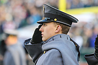 Philadelphia, PA - December 8, 2018:     An Army Cadet before the 119th game between Army vs Navy at Lincoln Financial Field in Philadelphia, PA. (Photo by Elliott Brown/Media Images International)
