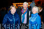Joan Flavin, Maura Fitzmaurice and Eleanor Ryan celebrating Listowel Tidy Town overall winners and Ireland's Tidiest Small Town. on Monday night.
