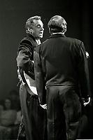 Les Jerolas au Festival Juste Pour Rire, le 30 juillet<br /> 1992 au theatre Saint-denis<br /> <br /> PHOTO : Agence Quebec Presse